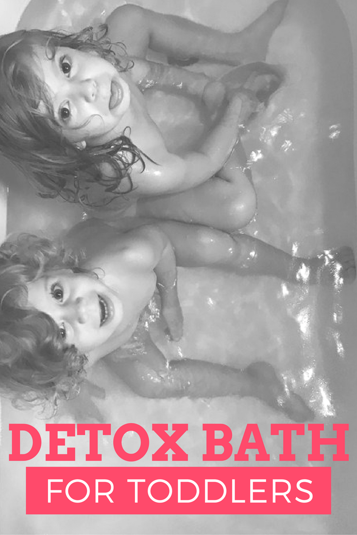 detox bath for toddlers