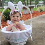 Baby Girls First Easter Basket