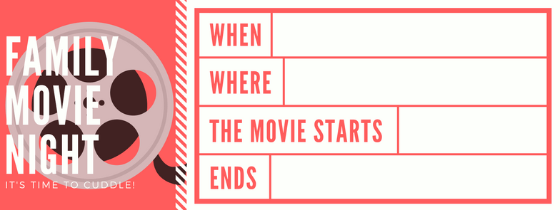 Creating A Family Movie Night Your Kids Will Love The Gray Ruby – Create Your Own Movie Ticket