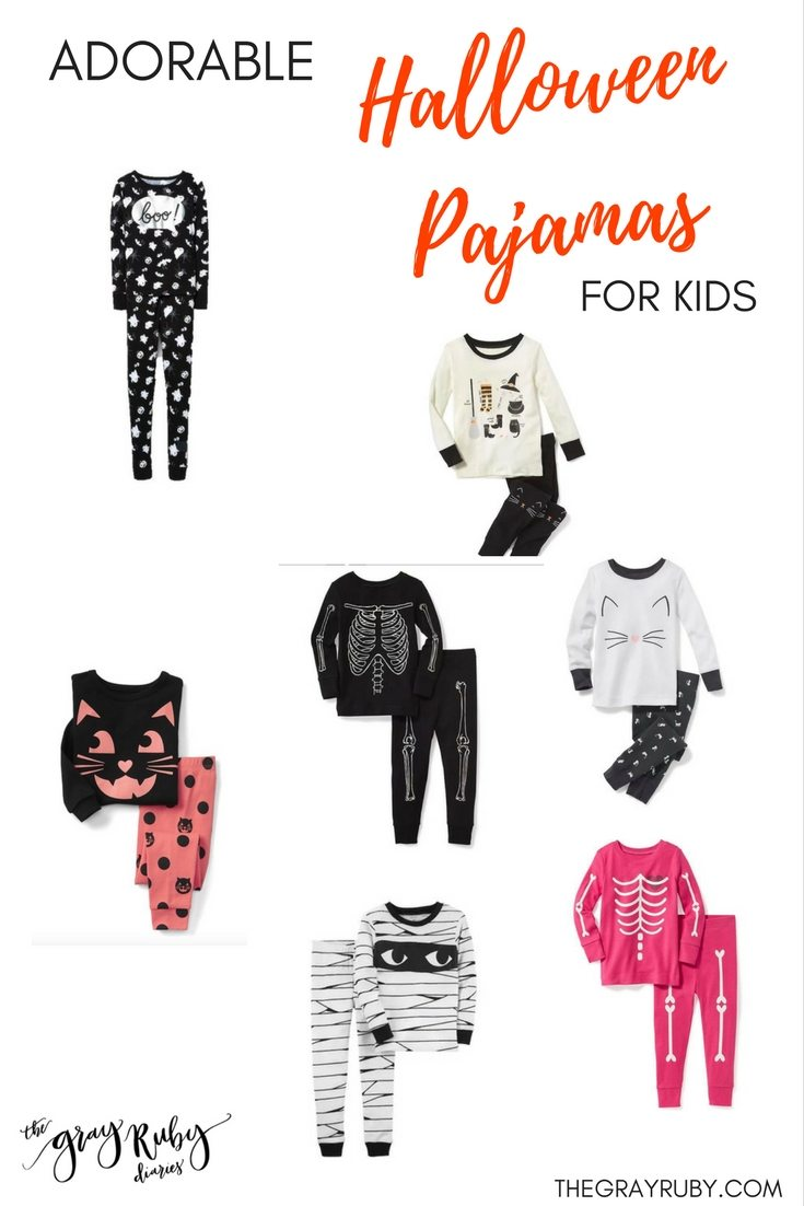 Adorable Halloween PJ's