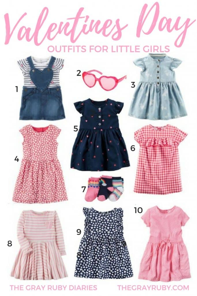 Valentines Day Outfit Inspiration For Little Girls The Gray Ruby