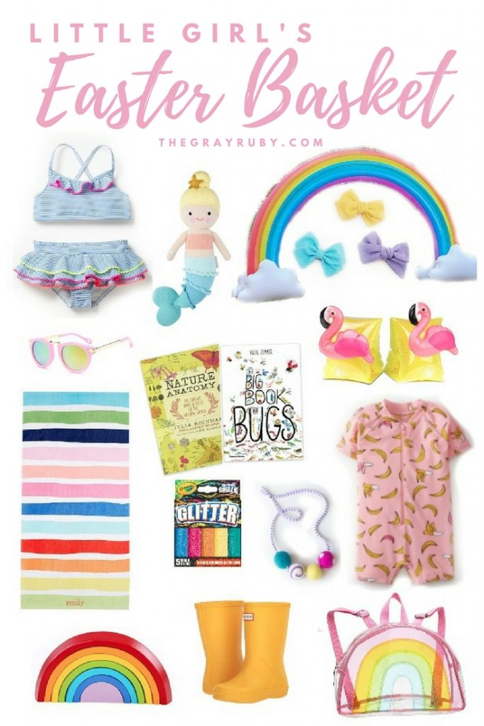 Little Girls Easter Basket Ideas