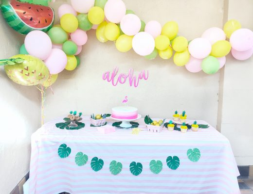 Tropical Luau Birthday Party