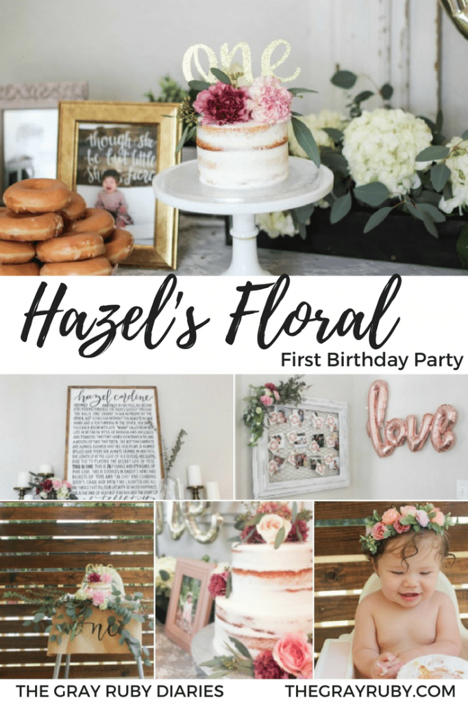 Floral First Birthday Party