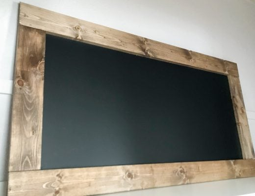 DIY Farmhouse Chalkboard