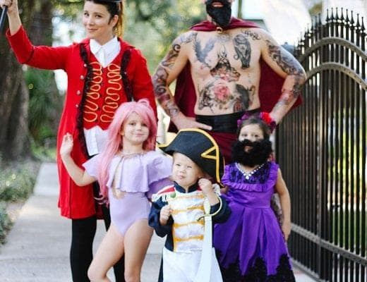 Greatest Showman Halloween Family Costumes