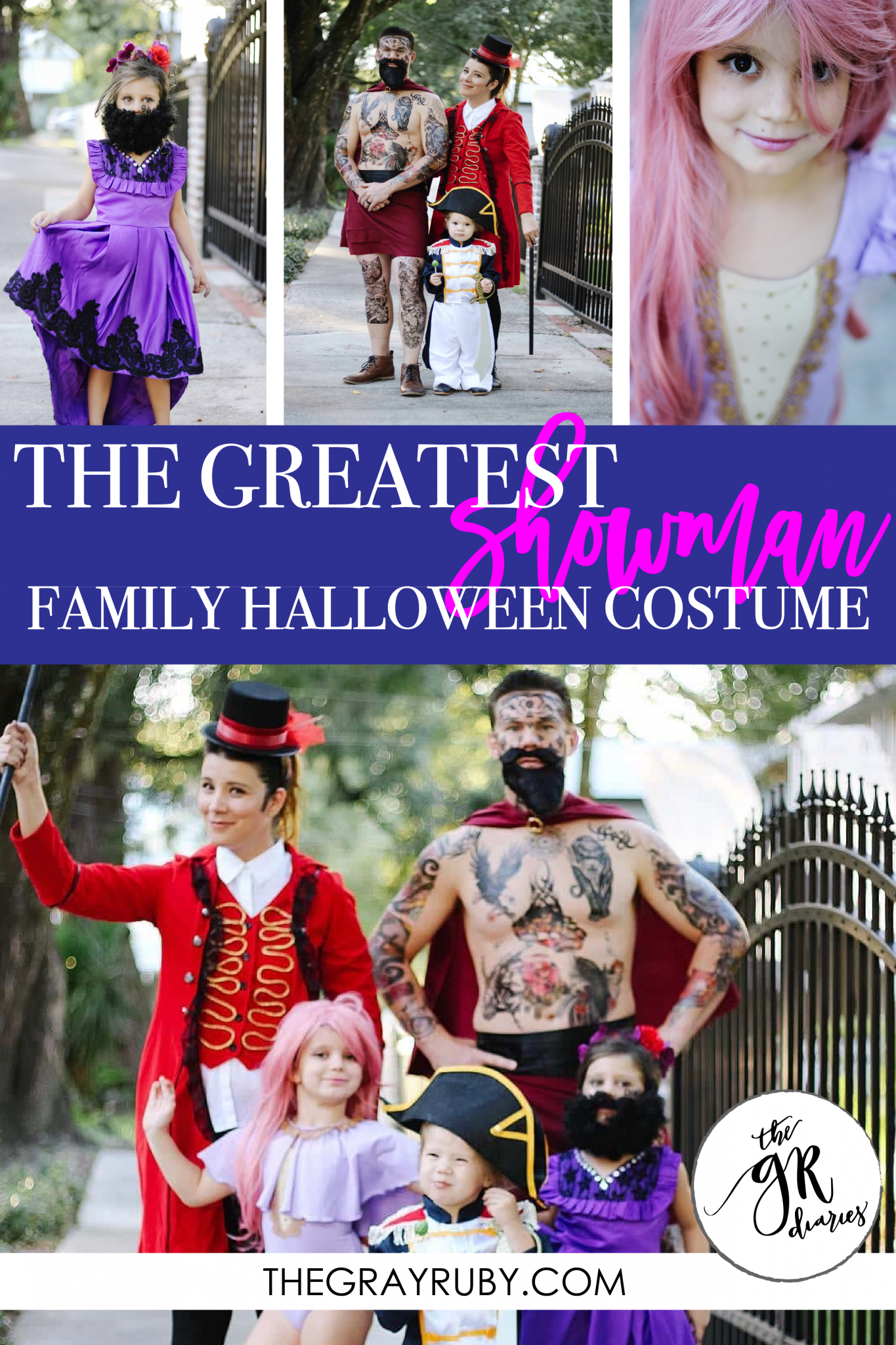 The Greatest Showman Halloween Costume