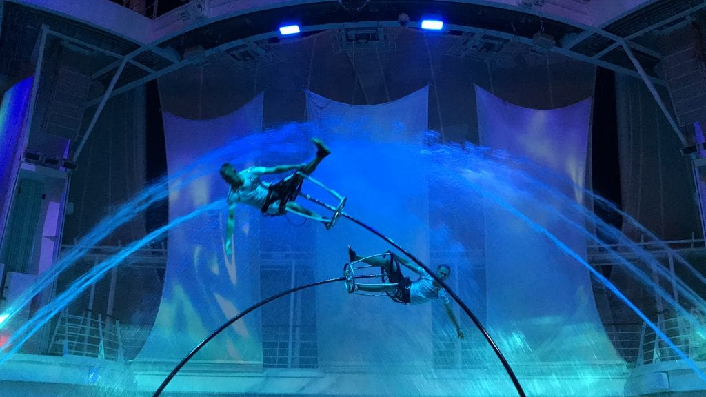 Aqua Theatre on Symphony of the Seas