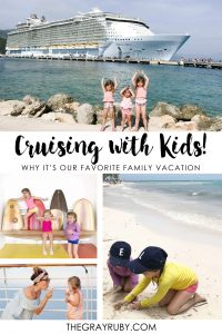 Cruising with kids - royal Caribbeans Oasis of the Seas