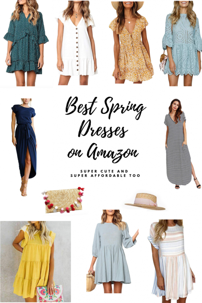 best spring dresses on Amazon
