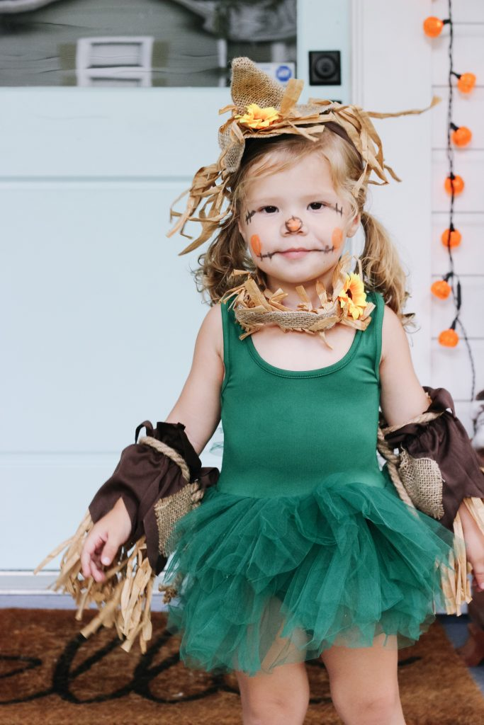 wizard of oz scarecrow tutu costume