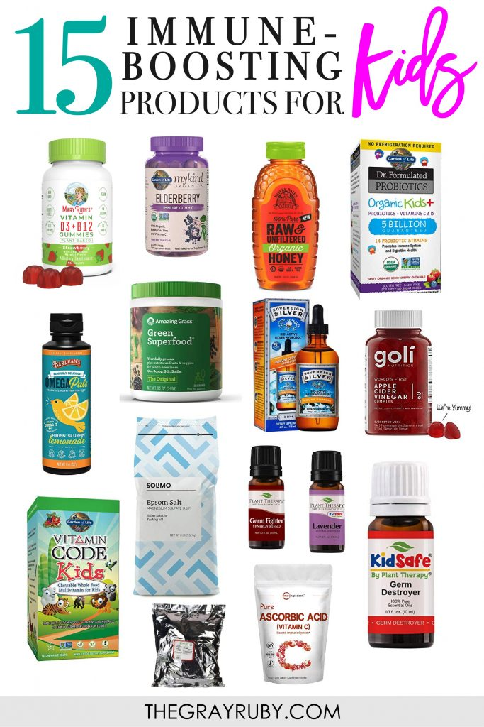 15 immune boosting products for kids
