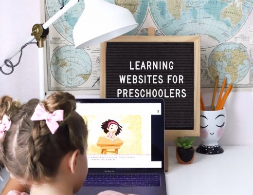 learning websites for preschoolers
