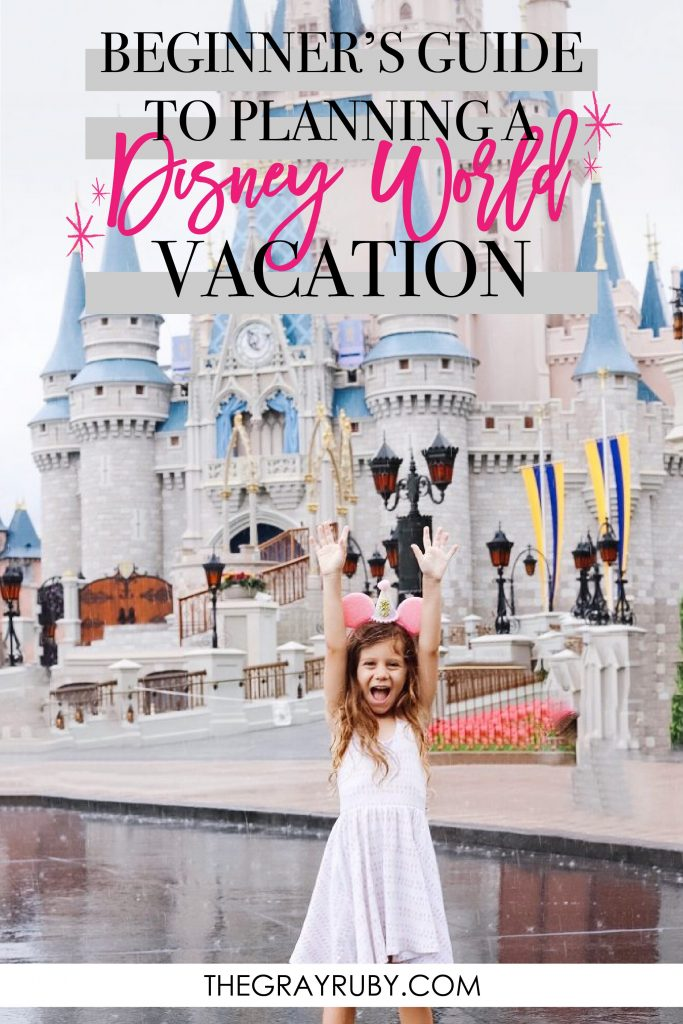beginners guide to planning a Disney World vacation