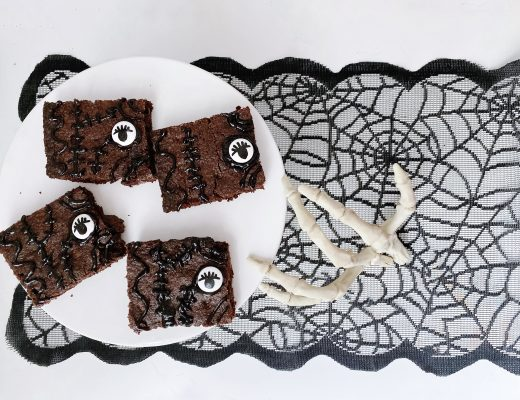 Hocus Pocus spell book brownies