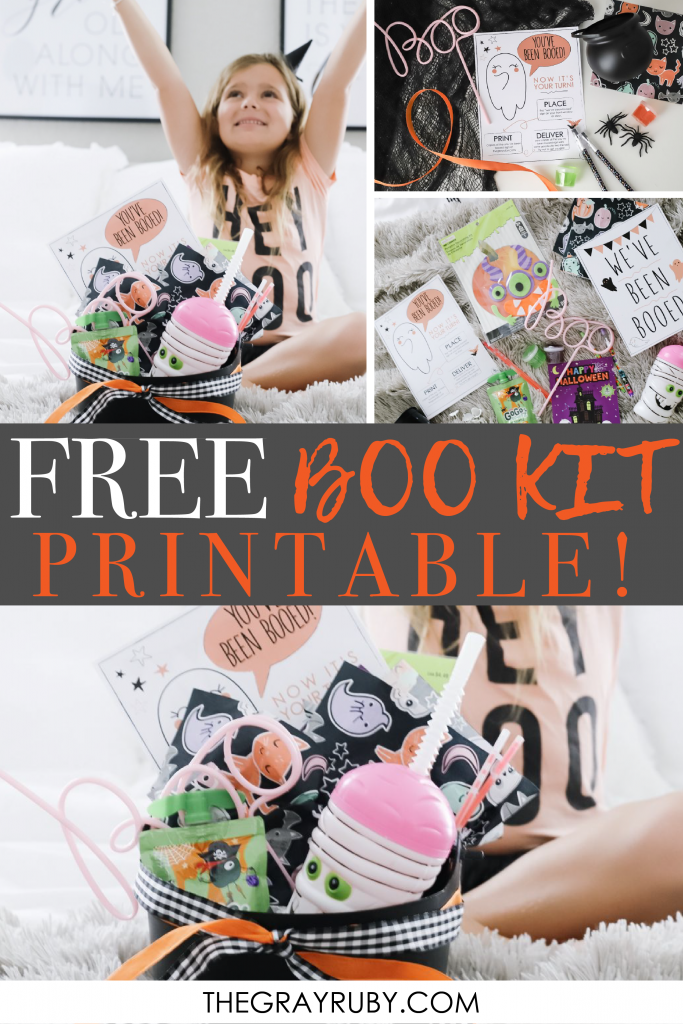 boo kit printable
