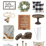 The Best Fall Farmhouse Decor from Amazon
