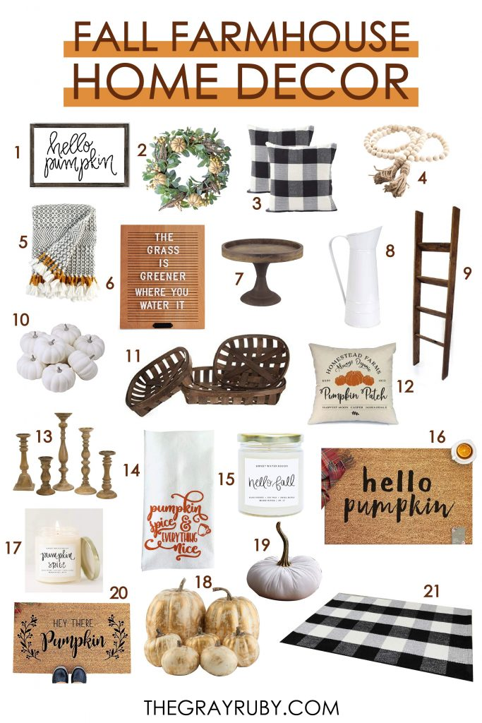 the best fall decor ideas for the home