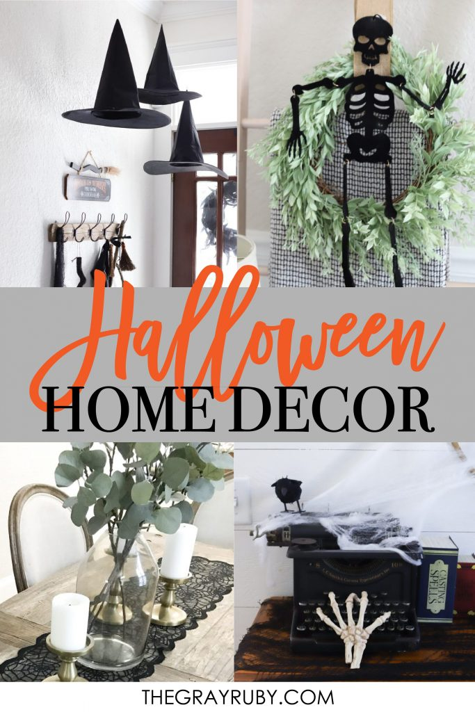 simple halloween home decor