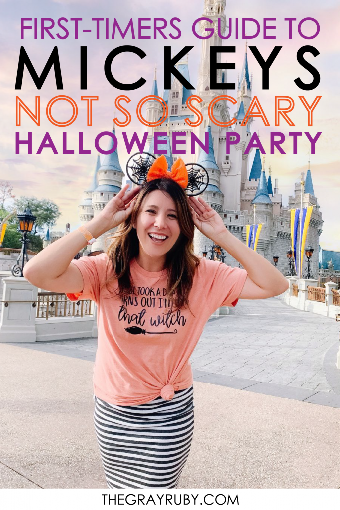 first time to mickey's not so scary halloween party