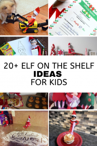 2o elf on the shelf ideas