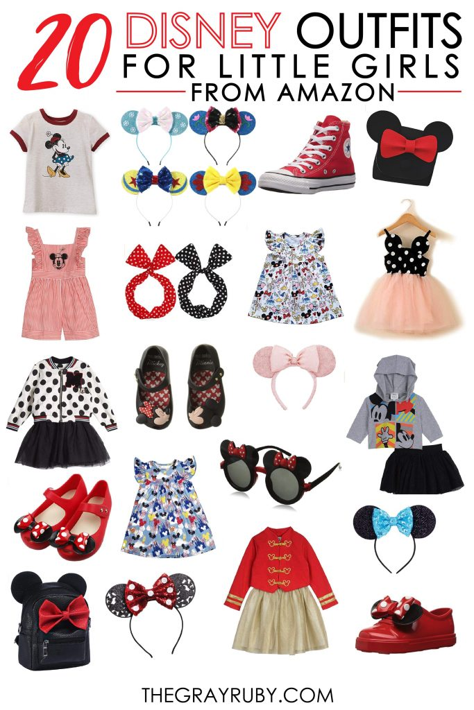 20 Disney outfits for girls from Amazon / Disney outfits for girls from Amazon / Disney outfits for toddlers /Disney outfits for kids / Little girls outfits for Disney / Inexpensive Disney clothes
