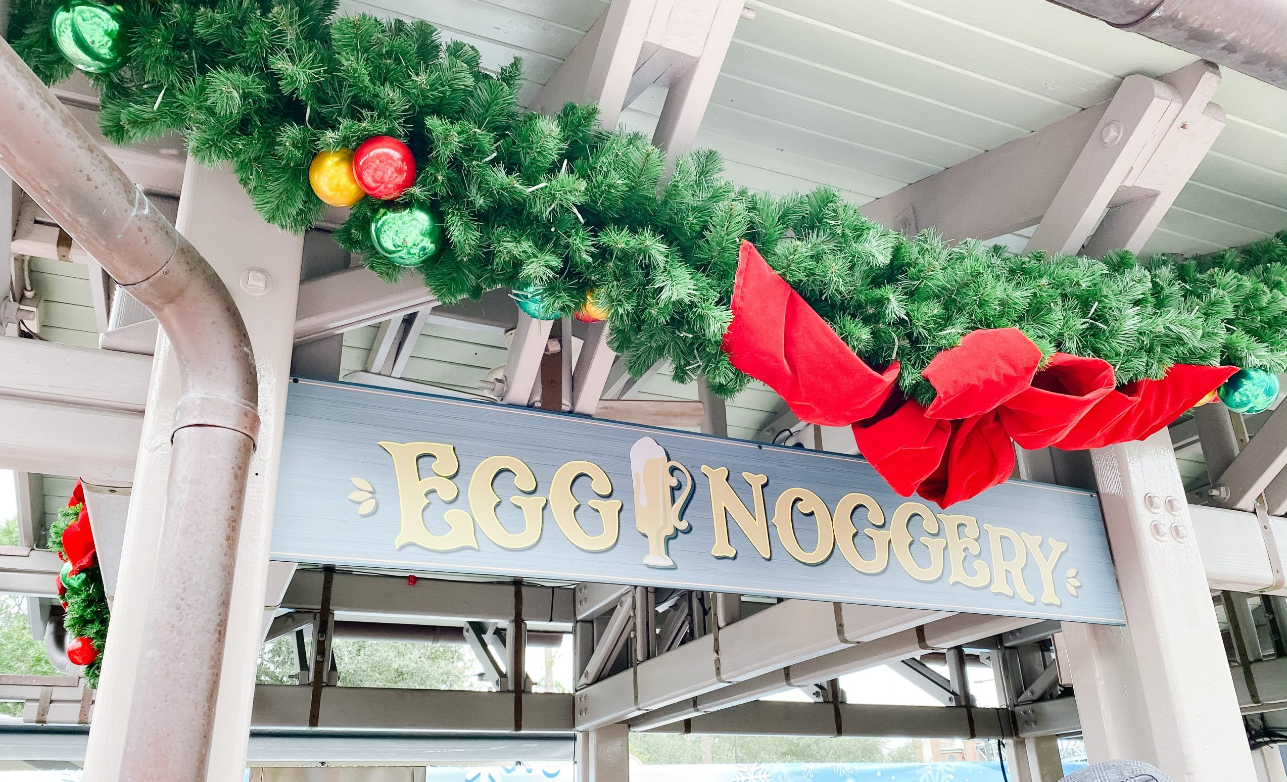 egg noggery - festive treats at Disney Springs