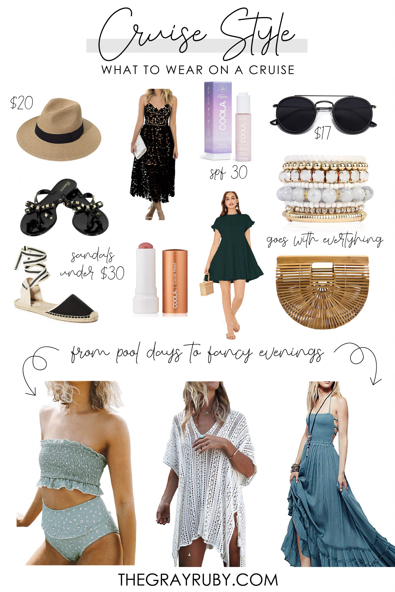 Cruise style - what to wear on a cruise