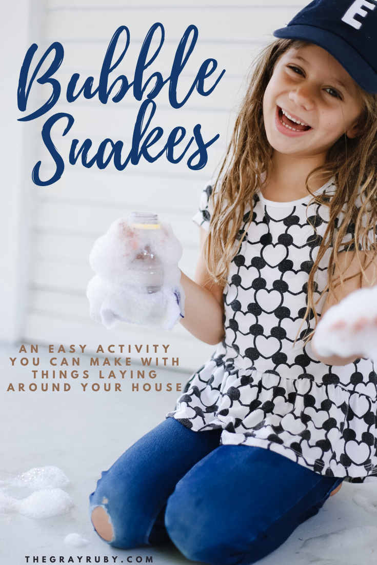 Bubble snake activity