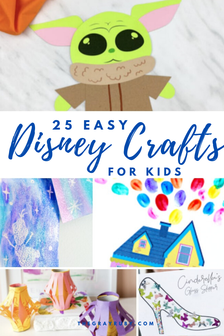 25 easy Disney crafts for kids