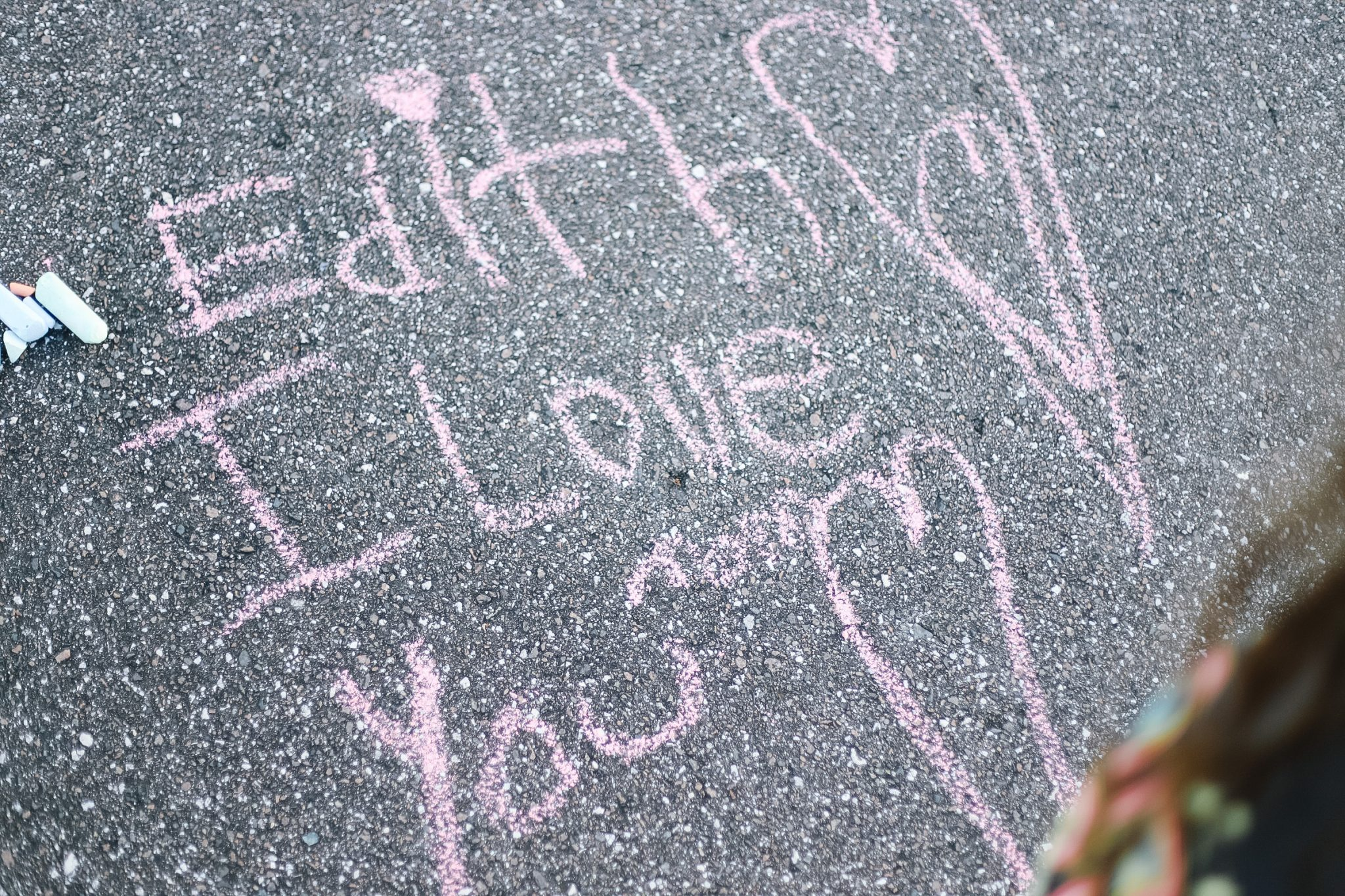 educational activities to do with sidewalk chalk - outdoor activities