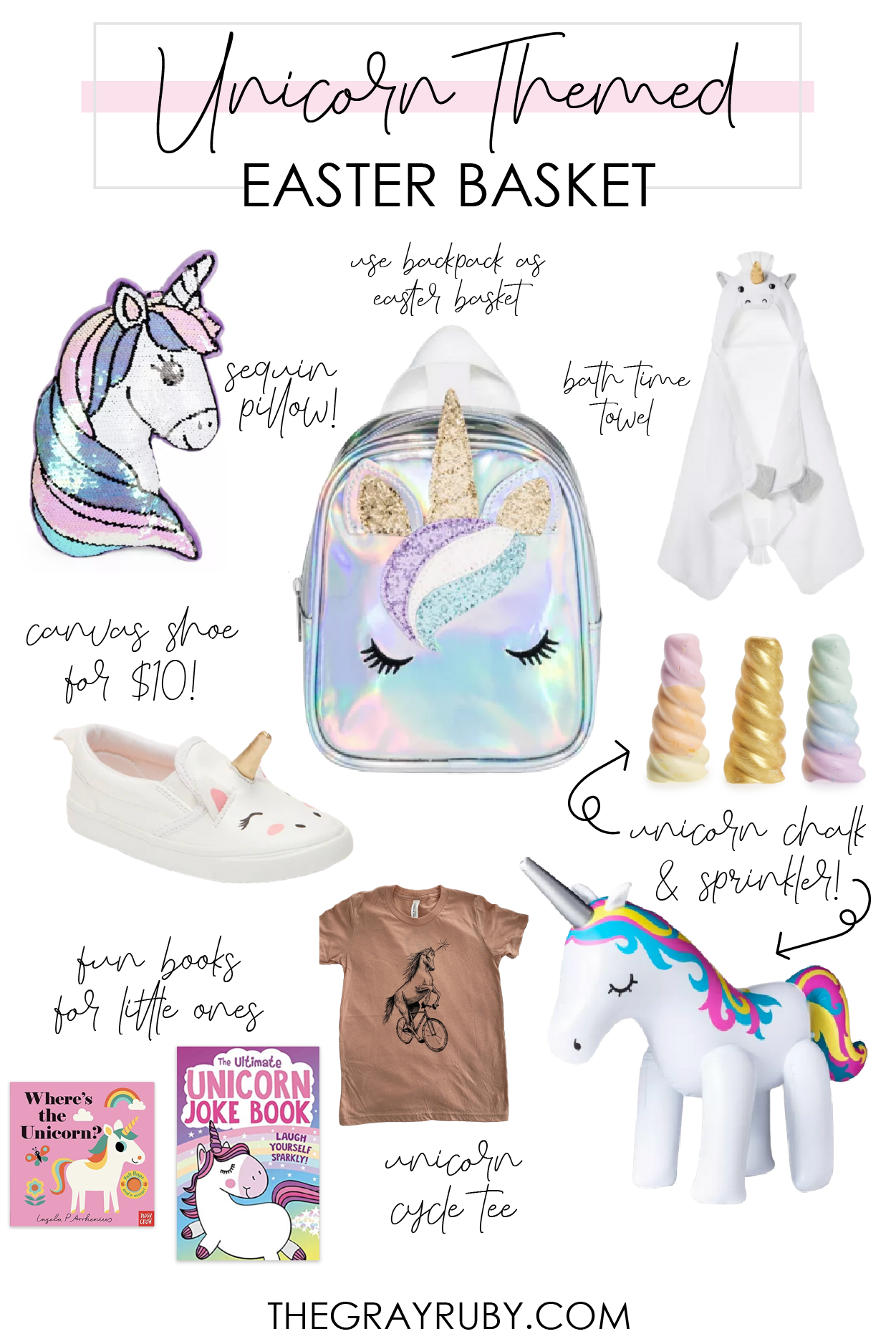 Unicorn Easter Basket Ideas