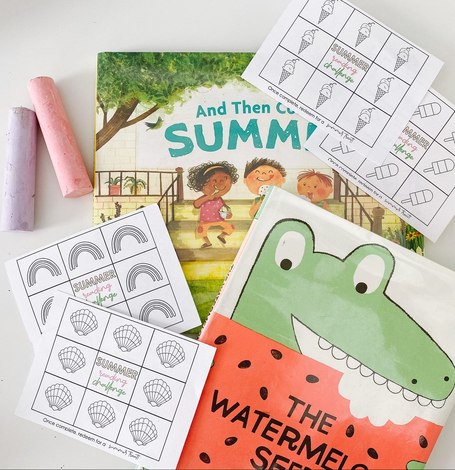 summer books for kids plus a free summer reading challenge printable