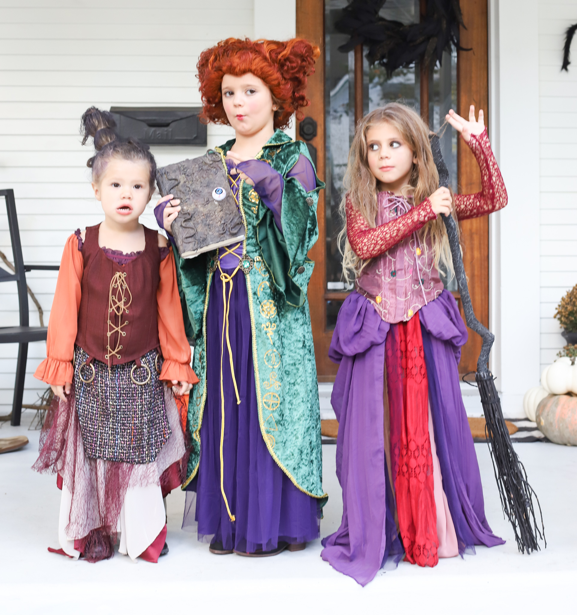 Sanderson sisters costumes for girls