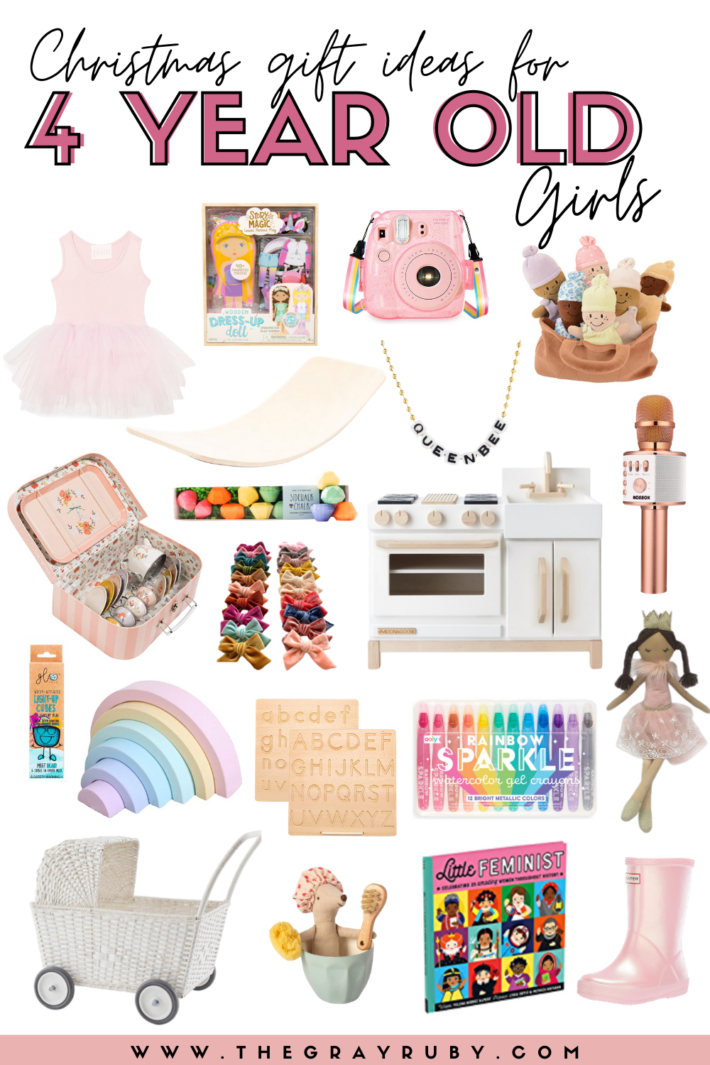 Christmas gift ideas for 4 year old girls