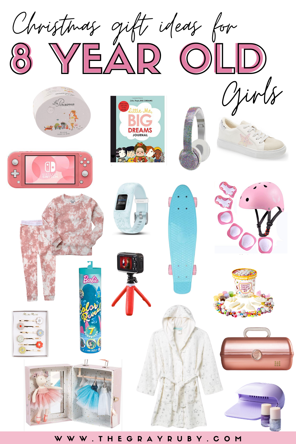 Christmas Gift Ideas For 8 Year Old Girls The Gray Ruby Diaries