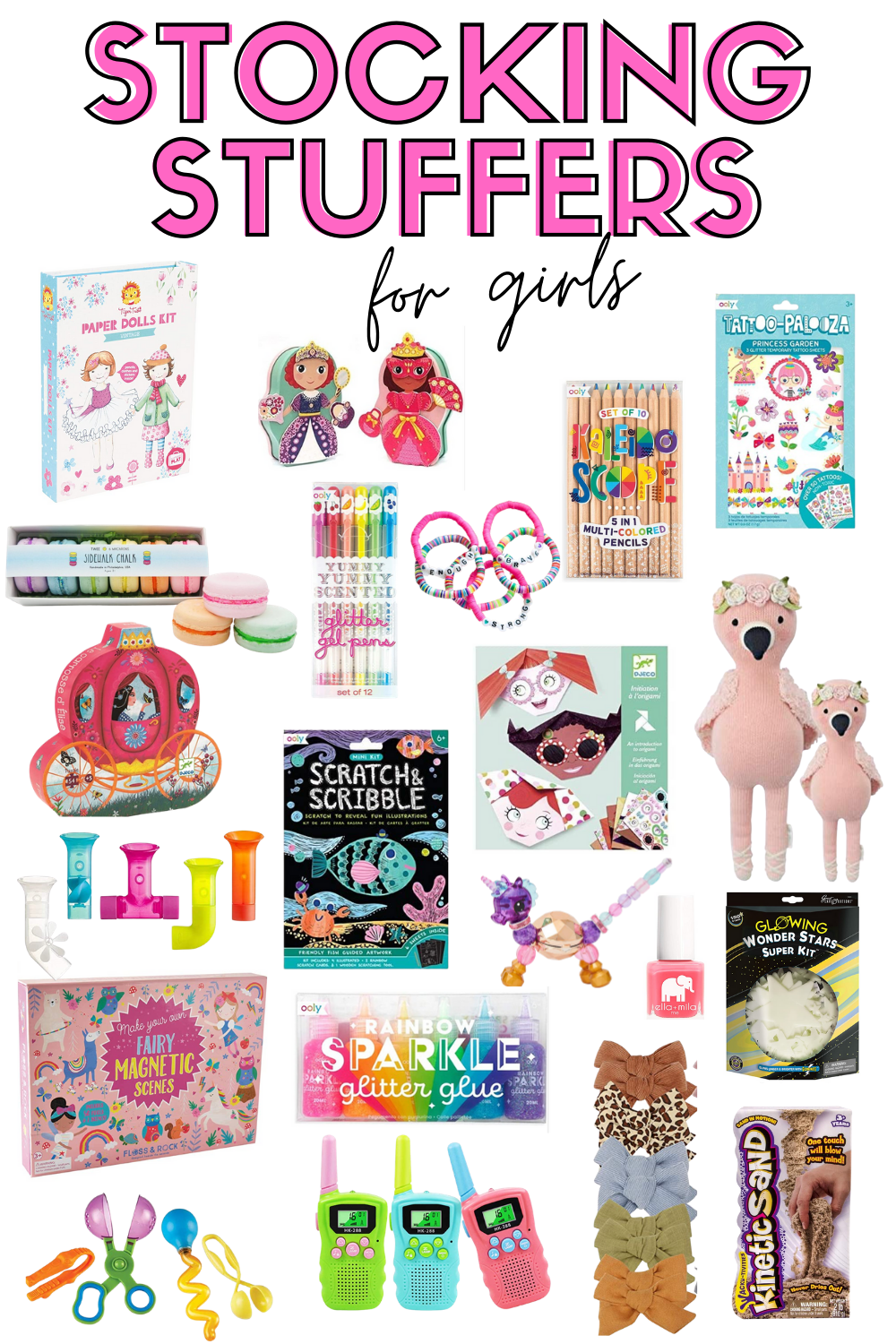 stocking stuffer ideas for girls
