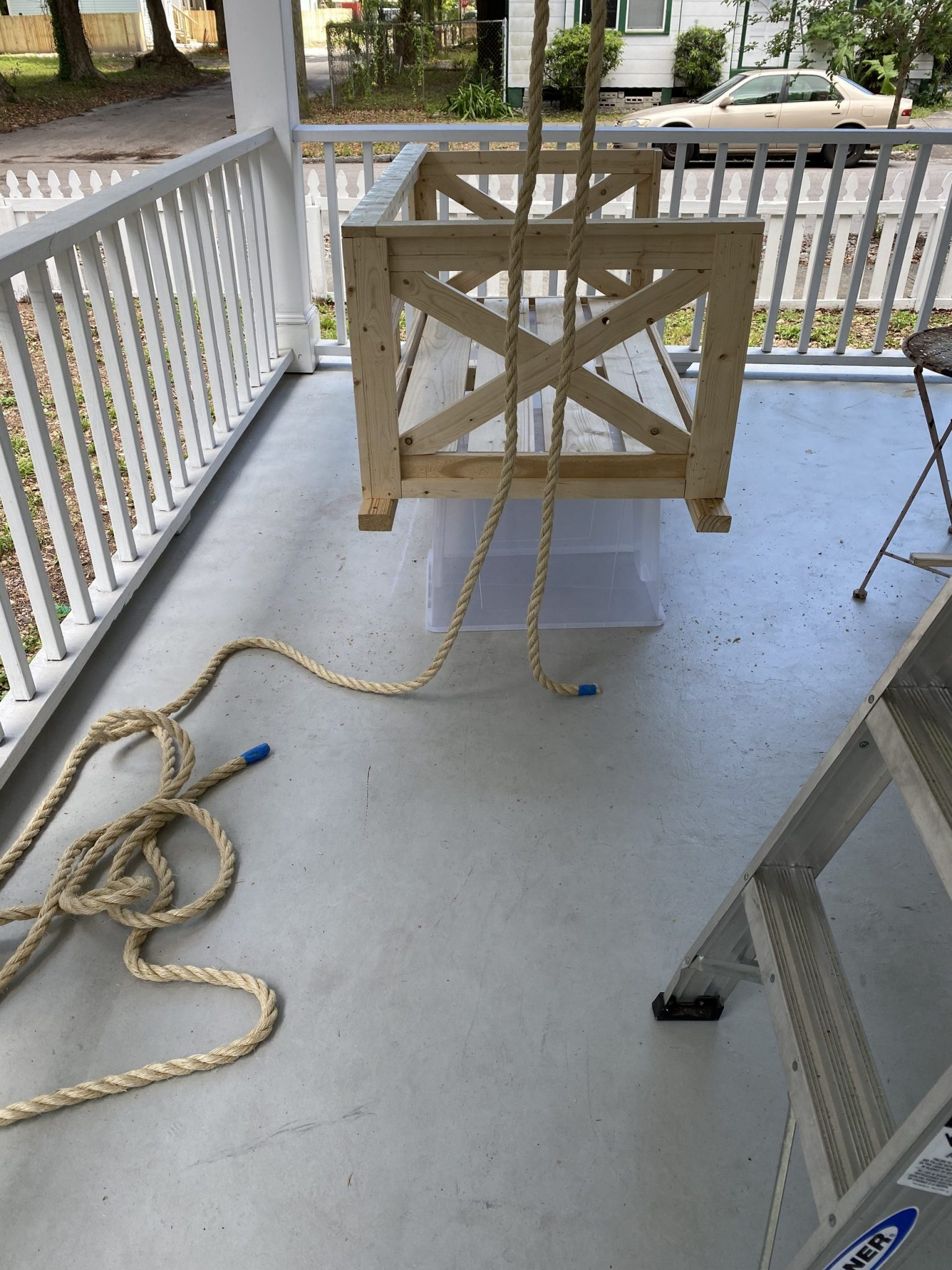 porch swing ropes