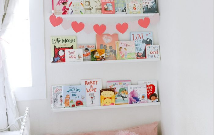 Valentines Day Book Nook - Books for Kids
