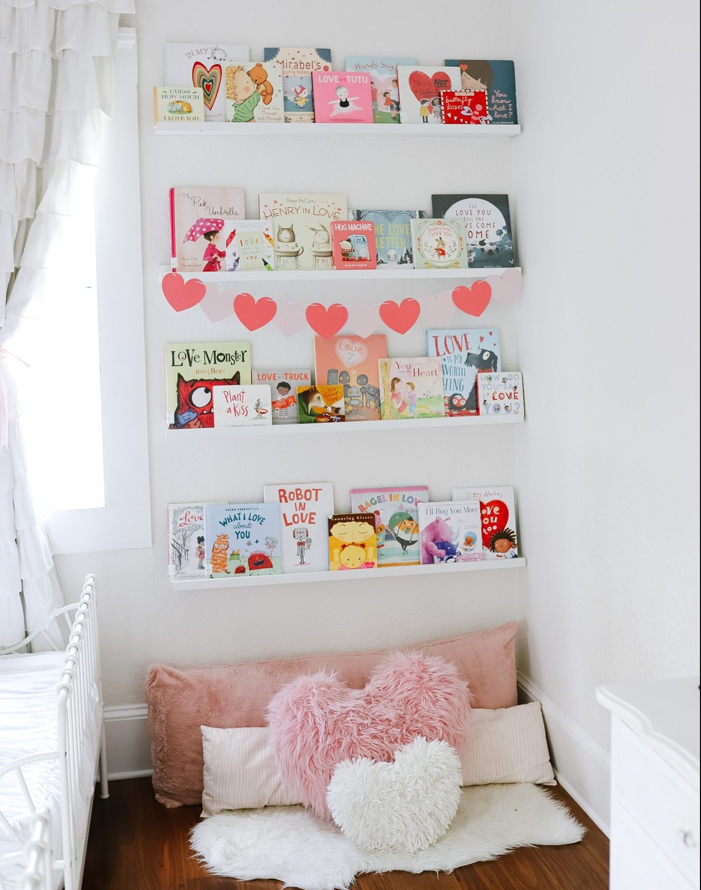 Valentines Day Book Nook - Book Collection