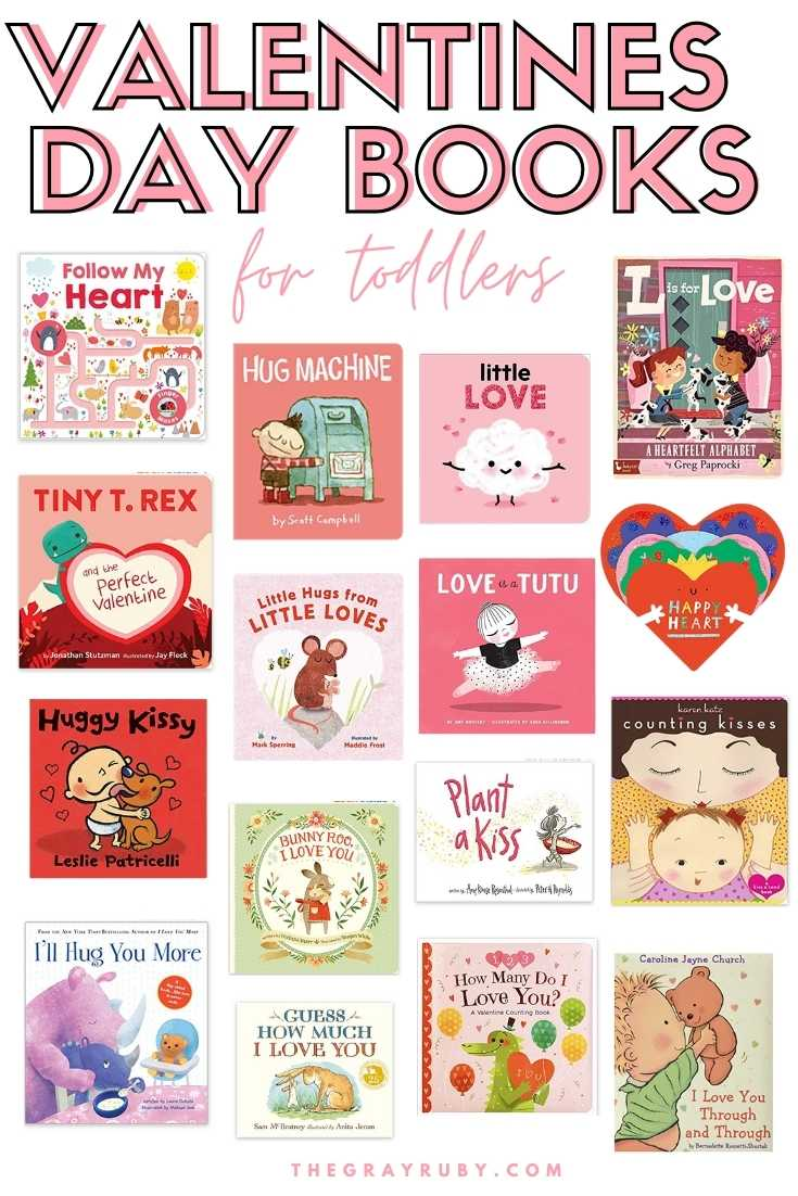 Valentine's Day Books for Toddlers - Board books for babies - valentine's day board books