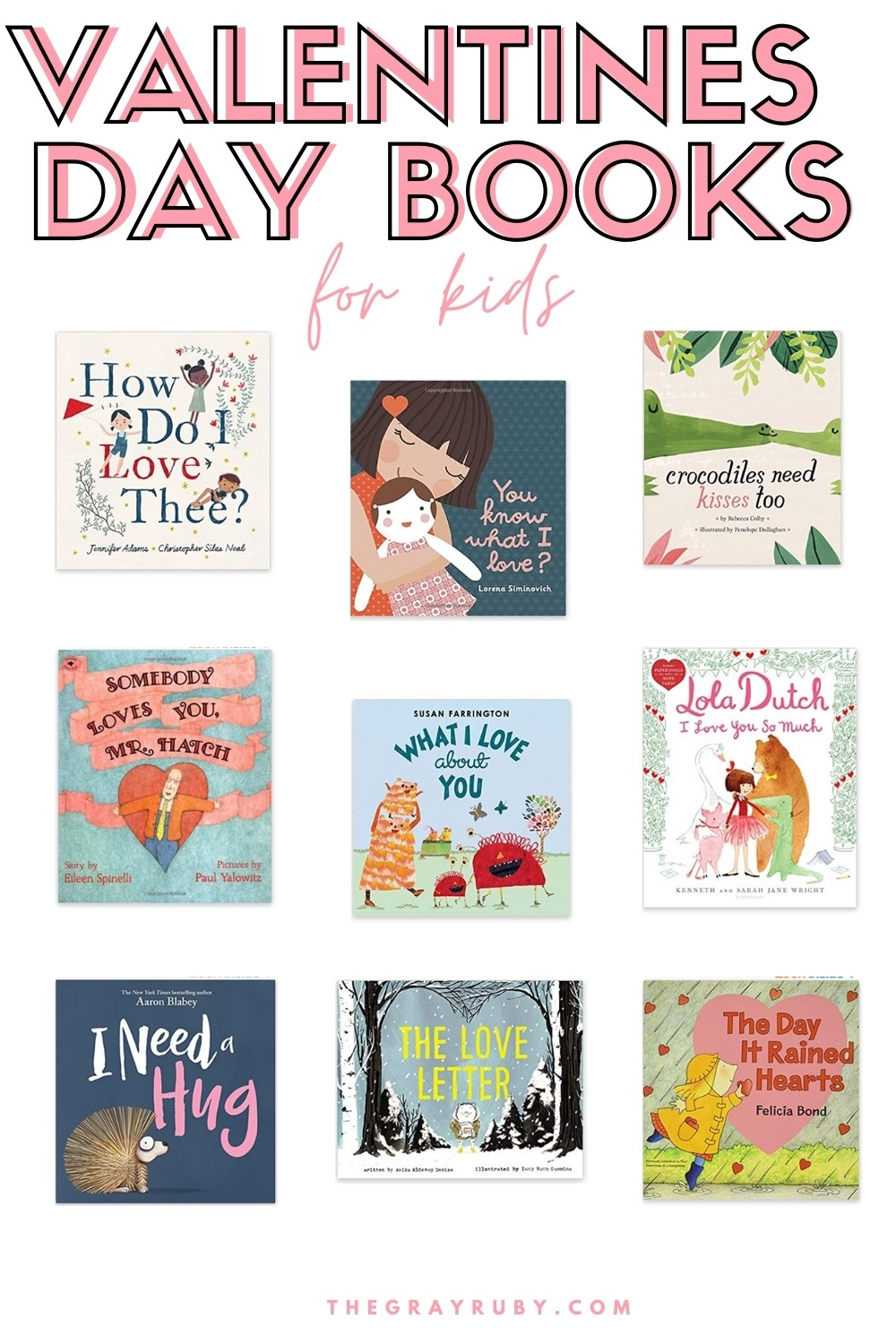 valentines day picture books