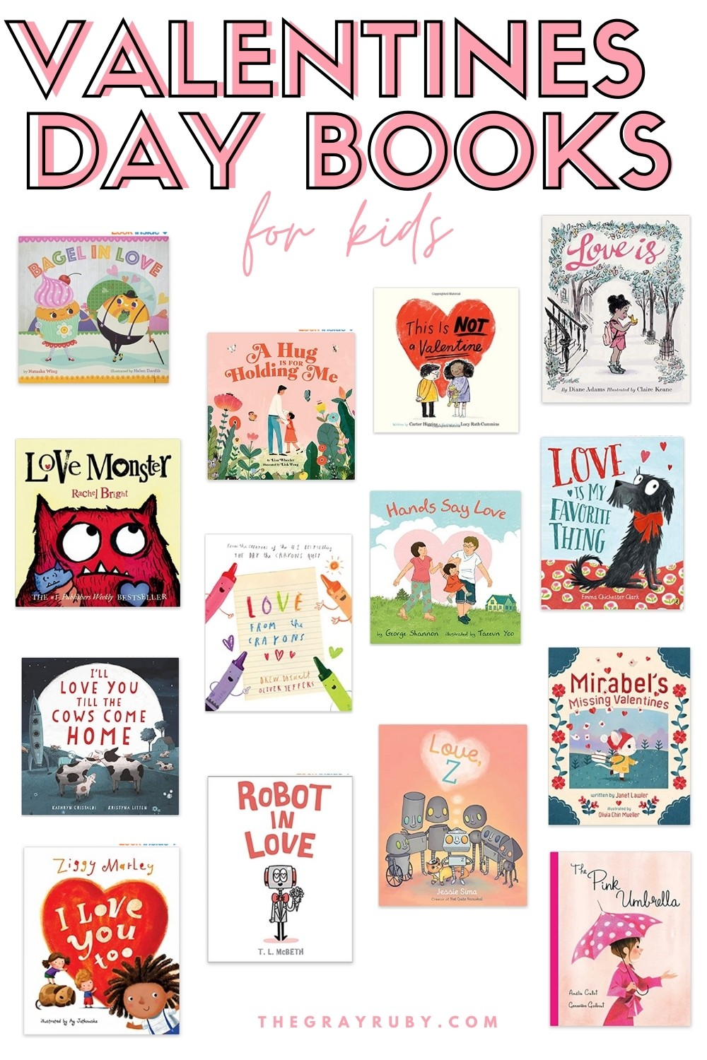 Valentines day books for kids - valentine reading