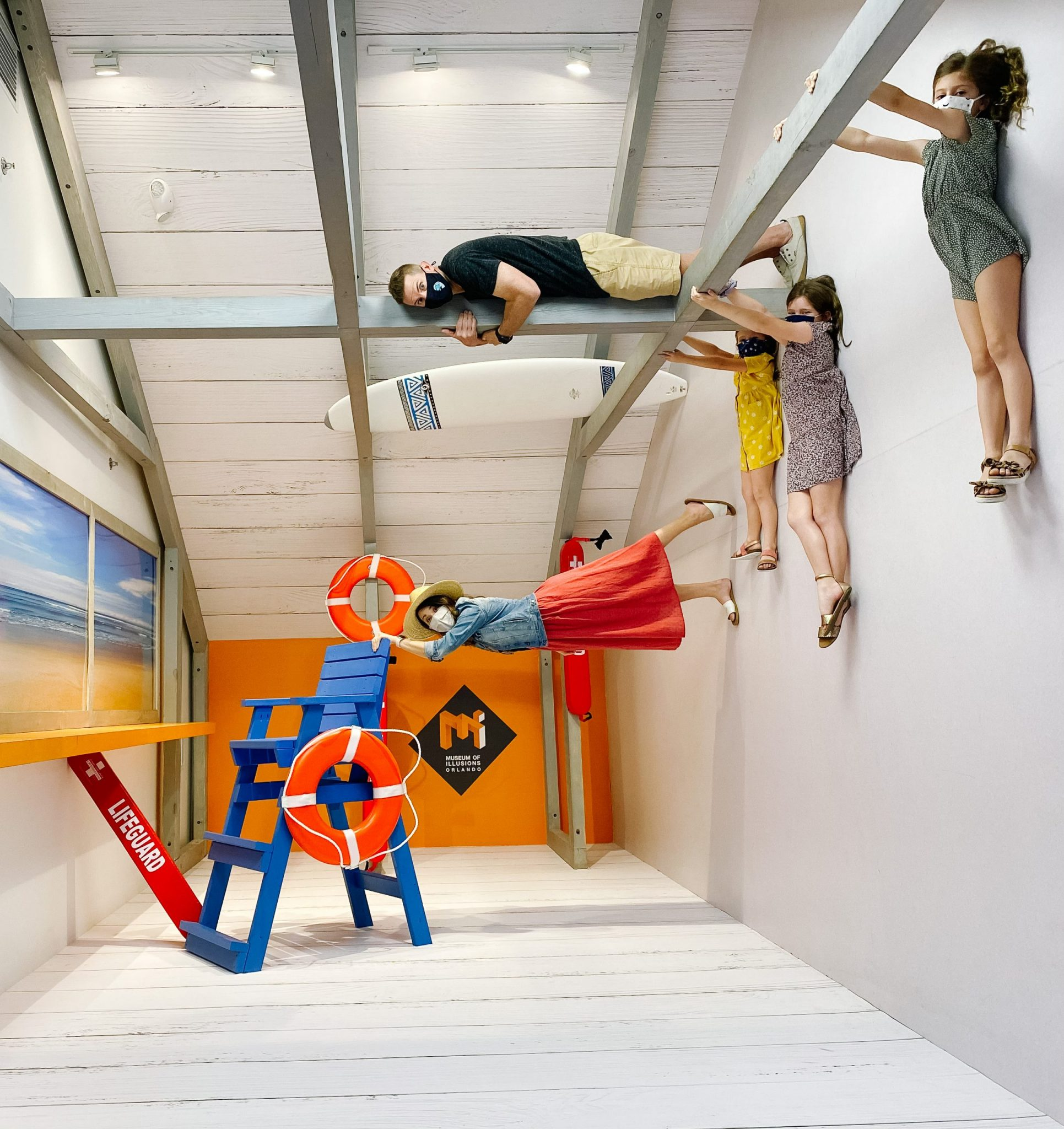 museum of illusions Orlando with kids