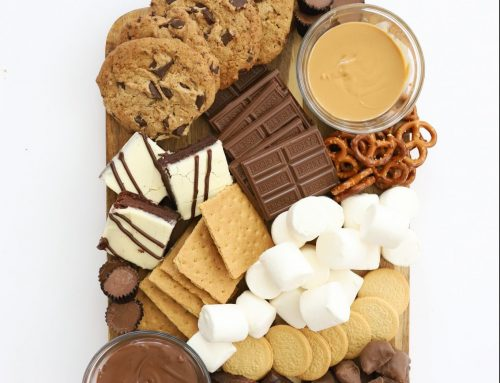 Oven S'mores Board